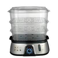 Cornell 3 Tier Electric Food Steamer 10L Capacity CS-202