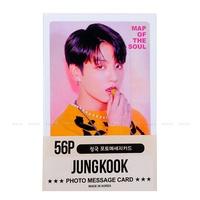 BTS Jungkook Photocard 56pcs - BTS JK Jung Kook Solo Photo Message Card Photocard Set + Extra