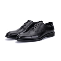 The United Kingdom 100 Years Brand Byford BYFORD England Business Leather Shoes Male 2018 Lace-up BULLOCK Formal Wear Leather Shoes