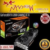 GIGABYTE RTX 2080  GAMING OC 8G GDDR6.... ( In Stock Now )