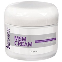 Bronson MSM Cream with Chondroitin and Glucosamine, 4 Ounces