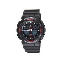 Casio CASIO G-SHOCK G Shock G Shock Mens Watch GA-100-1A4DR black × red [watch] reverse imports