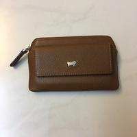 Brown Braun Buffel Coin/Key Pouch