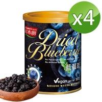 【紅布朗】藍莓乾(150gX4罐)