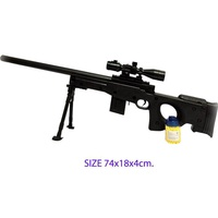 MAX TOY  ปืนอัดลม ปืนอัดลมยาวบอดี้พลาสติกพร้อมกระสุน 802-1