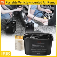 XIAOMI 70mai 12V Portable Vehicle-mounted Air Pump Air Compressor Tire Repair Tool Electronic Adapte