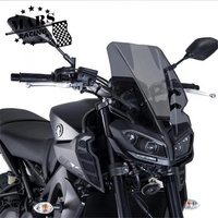 yamaha mt09 mt - 09 2017 2018 block front windshield guide cover