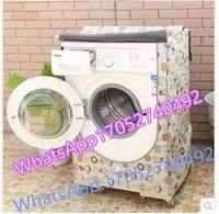 Cover waterproof sunscreen Haier Washing Machine Sanyo Panasonic Samsung Siemens Little Swan Dr. LG