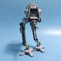 Star Space Wars The AT-DP Building Blocks Model Compatible Bricks Figure Lepins Fiigures Toys for Children