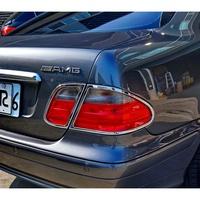 【JR 佳睿精品】BENZ 賓士 CLK W208 1997-2002 CLK230 CLK320 鍍鉻後燈框 尾燈框