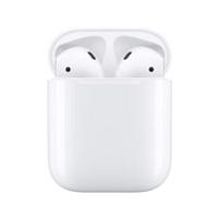 Apple AirPods 第二代 藍牙耳機 2019-有線充電盒版(MV7N2TA/A)