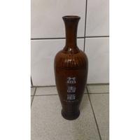 金門酒廠益壽酒陶瓷空酒瓶 古董老物