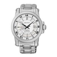 SEIKO Premier Kinetic Direct Drive นาฬิกาข้อมือผู้ชาย สายสแตนเลส รุ่น SRG007P1
