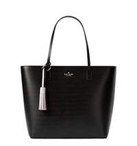 [KATE SPADE NEW YORK] Kate Spade Full Screen Zoom Wright Place Karla Leather Tote Shoulder Bag Purse