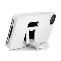 ★APP Studio★ ZeroChroma -【白色】 iPhone 4/4S 專用多角度可立式保護殼 (免運費)
