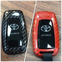 Auris CH-R RAV4 PURIC 12代altis 豐田鑰匙保護殼 鑰匙包 鑰匙套 碳纖維