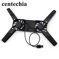 """Rotatable USB Fan Cooling Pad 2 Fans Cooler Notebook Cooler Computer Laptop Stand USB Fan For 10-17"""" PC Laptop PC Computer"""