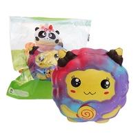 SquishyFun Galaxy Sheep Squishy 8cm*7cm*7.5cm Kawaii Soft Slow Rising Toy With Packing Bag