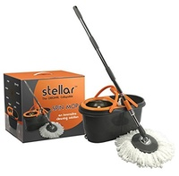 Stellar Spin Mop, The Original Collapsible Spin Mop with 2 Mop Heads
