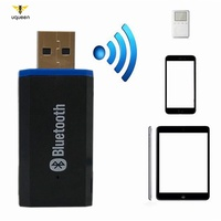 UQ Bluetooth 5.0 Audio Receiver Stereo USB Car Adapter Cable Convertible Wireless Bluetooth 3.5MM