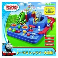 $容寶寶天地$日本進口 Thomas 湯瑪士小火車 軌道大冒險 手動 益智邏輯 訓練遊戲