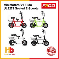 Minimotors Fiido V1 UL2272 Electric Scooter