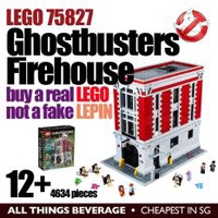 Lego 75827 Ghostbusters Firehouse Headquarters 12+ the REAL LEGO not fake LEPIN (Cheapest in SG)