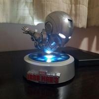 Floating magnetic iron man mk 2