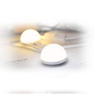 【磁吸小圓燈】小超輕巧LED磁吸閱讀隨身USB小圓燈 護眼小夜燈6LED床頭檯燈 節能筆記本燈banjoman1114劉