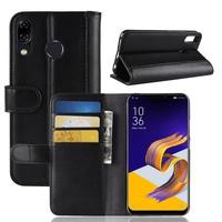 真皮【麥小舖2店】Zenfone 5 5Z ZE620KL ZS620KL 翻頁式 磁扣真皮皮套 優質平價款 黑棕 2色