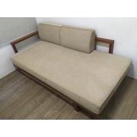 詩肯柚木二手床架&沙發床