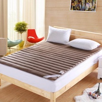 Winter Warm Flannel Mattress Foldable Tatami Mattress Pad Sleeping Rug Bedroom And Office Lazy Bed Ma (Suit For 1M Bed)