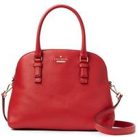 Kate Spade Jackson Street Lottie Satchel Crossbody Bag Handbag Red Carpet # PXRU8046 + Gift Receipt