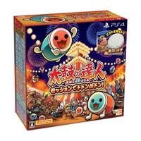 【歡樂少年刷卡價】全新現貨供應 PS4 太鼓之達人 合奏咚咚咚 同捆版 同捆組 中文