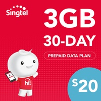 Singtel Data Package - 3GB (30 days)