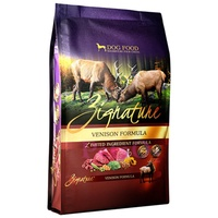 Zignature Venison Formula Dry Dog Food 4lbs