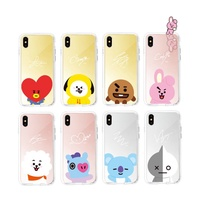[BTS] BT21 X LINE FRIENDS Official Mirror Phone Case for iPhone