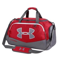 【Available】Under Armour_Travel Gym Duffle Luggage Bag with Shoe Compartment Unisex Large Portable Nylon Hand Carry Weekender Bag Women and Men Tote Bag