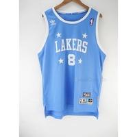 玉米潮流本舖 ADIDAS NBA LAKERS BRYANT 8號湖人KOBE 四星水藍 電繡復古 青年版球衣
