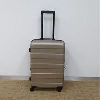 """MUJI-style"" New 24 inch Hard Case Luggage Bag (Expandable)"