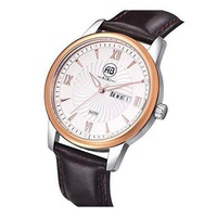 [AIBI] AIBI Men's Watch Along Quartz Leather Strap Waterproof Watches [From USA] - intl