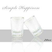 簡單幸福 透明玻璃一口杯20cc(12入)shot杯 烈酒杯 威士忌杯 吞杯 洋酒杯 餐廳/家用