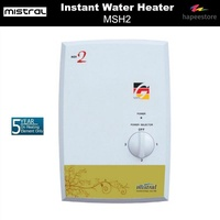 Mistral Instant Water Heater - MSH2 (5 Years Warranty On Heating Element)