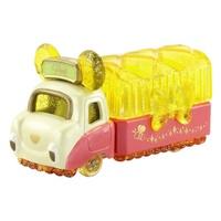 大賀屋 日貨 小熊維尼 首飾盒 收納盒 珠寶車 多美小汽車 tomica 多美 玩具車 迪士尼 正版 L00011380
