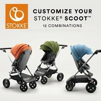 挪威 Stokke Scoot 第三代 輕便嬰兒手推車(14色) _好窩生活節