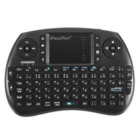 Ipazzport KP-810-21SD Japanese 2.4G Wireless Mini Keyboard Touchpad Airmouse
