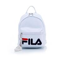 FILA 小型後背包(附鑰匙圈)-白 BPT-5103-WT