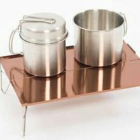 美麗大街【CF222226】超輕迷你野餐桌便攜鋁合金折疊茶桌