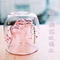 貓爪櫻花杯🌸星巴克 櫻花貓抓杯