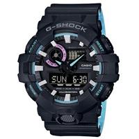 CASIO G-SHOCK 時尚競速雙顯運動腕錶/GA-700PC-1A